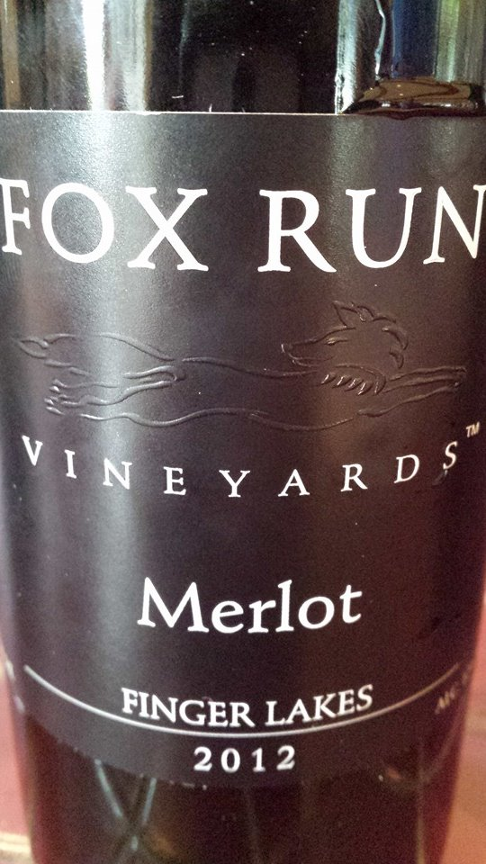 Fox Run Vineyards – Merlot 2012 – Finger Lakes