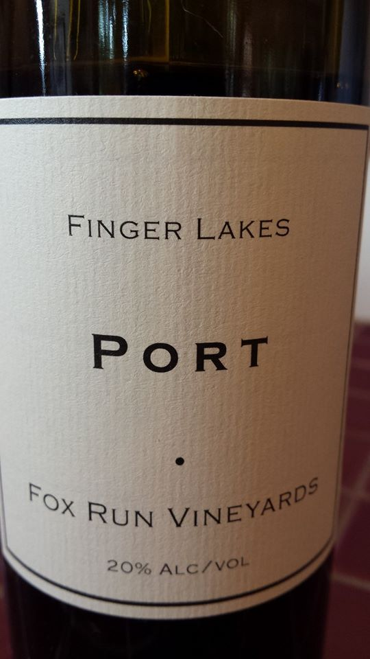 Fox Run Vineyards – Port – Finger Lakes