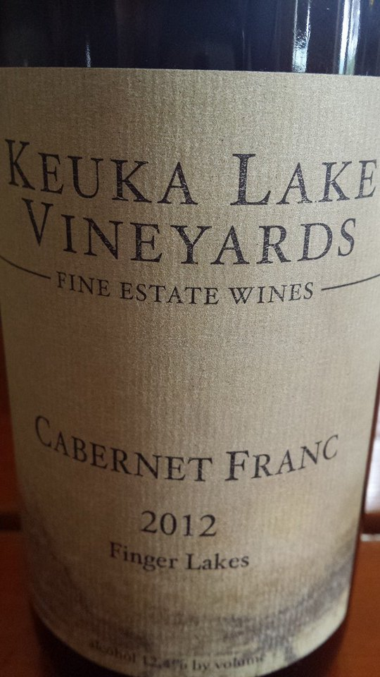 Keuka Lake Vineyards – Cabernet Franc 2012 – Finger Lakes