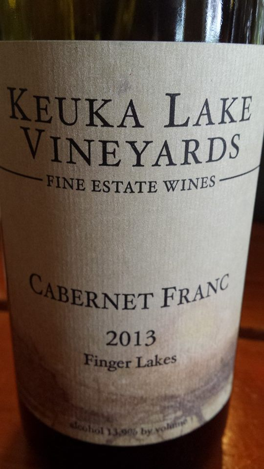 Keuka Lake Vineyards – Cabernet Franc 2013 – Finger Lakes