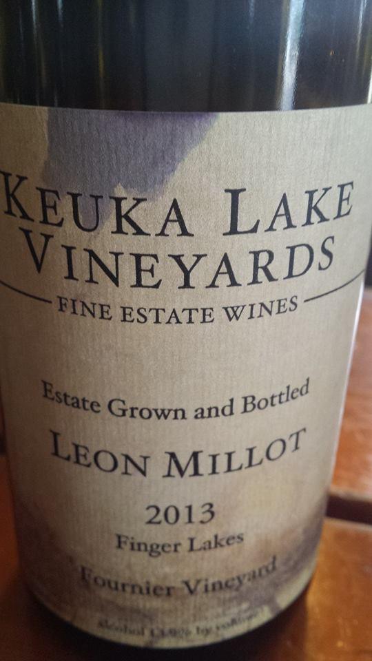 Keuka Lake Vineyards – Leon Millot 2013 – Fournier Vineyard – Finger Lakes