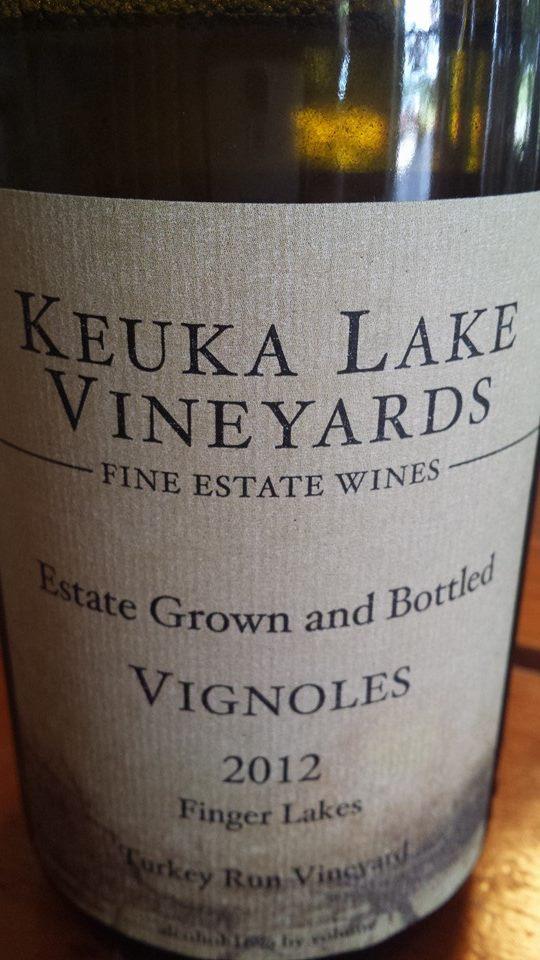 Keuka Lake Vineyards – Vignoles 2012 – Turkey Run Vineyard – Finger Lakes