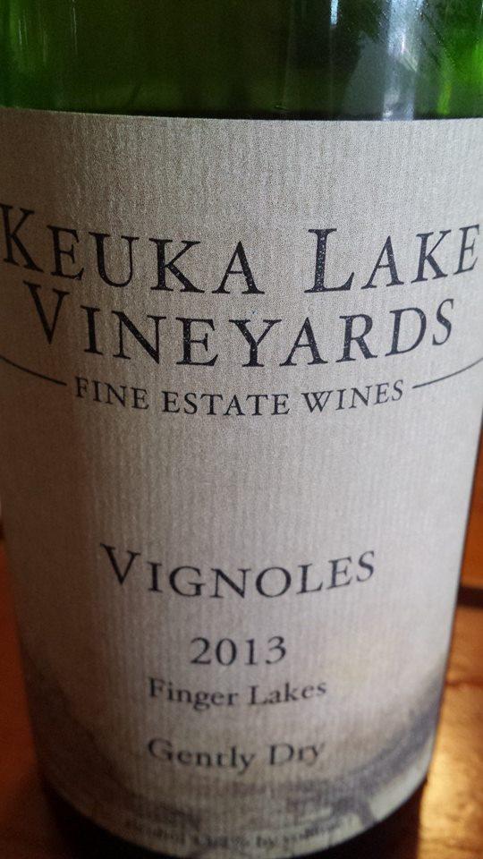 Keuka Lake Vineyards – Vignoles 2013 – Gently Dry – Finger Lakes