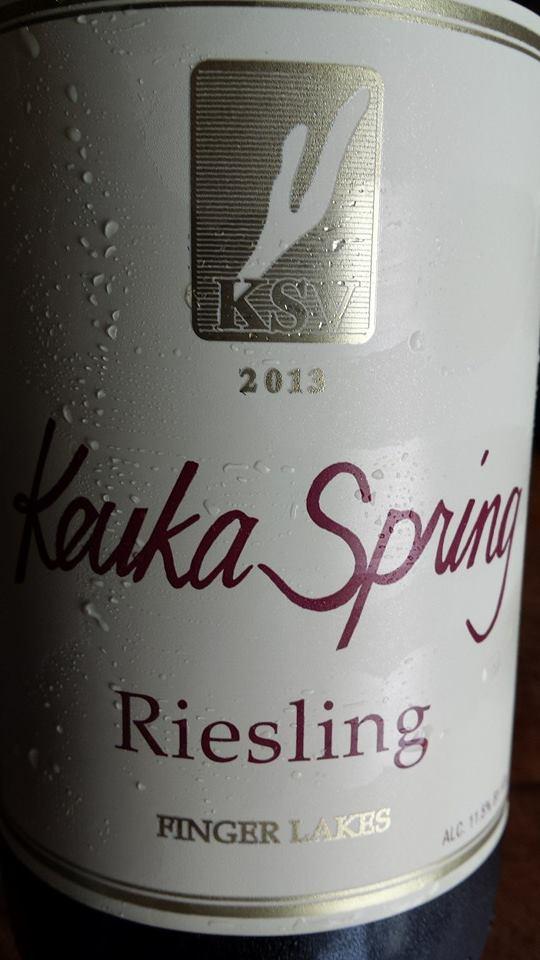 Keuka Spring Vineyards – Riesling 2013 – Finger Lakes