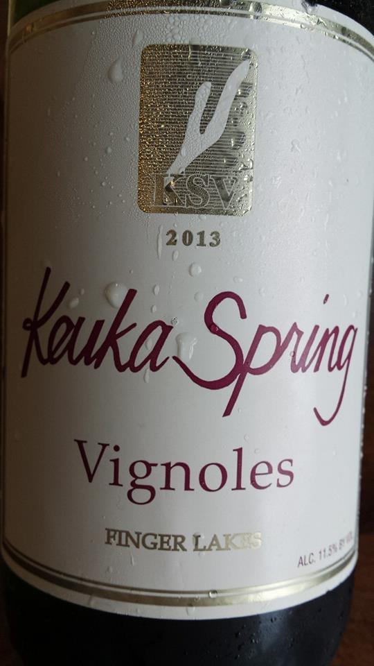 Keuka Spring Vineyards – Vignoles 2013 – Finger Lakes