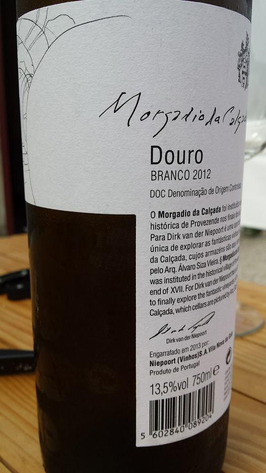 Morgadia da Calçada & Niepoort – Branco 2012 – DOC Douro