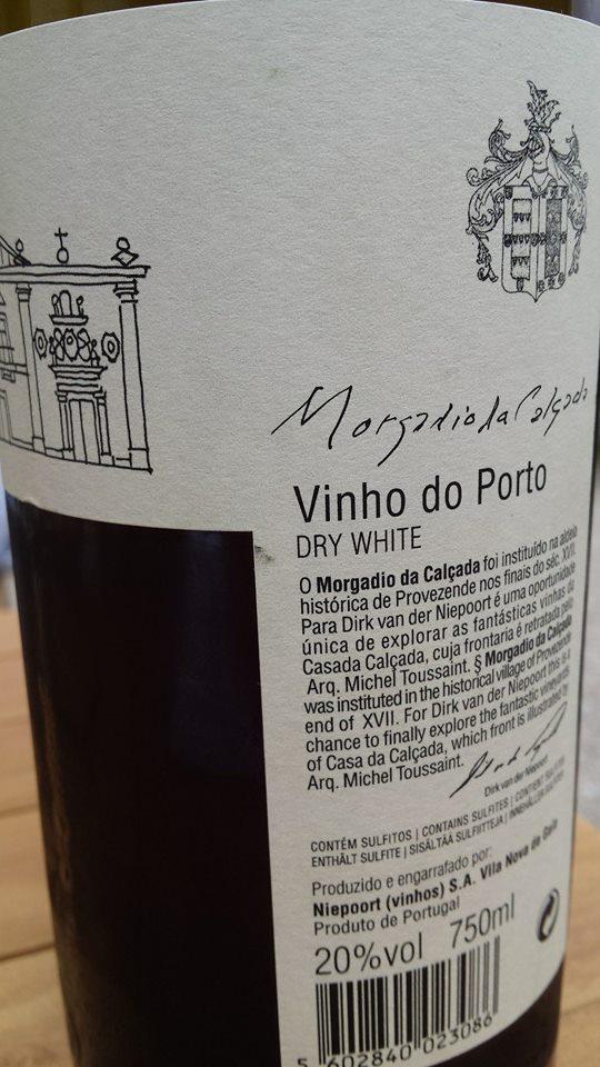 Morgadia da Calçada & Niepoort – Dry White – Vinho Do Porto