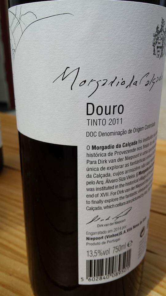 Morgadia da Calçada & Niepoort – Tinto 2011 – DOC Douro