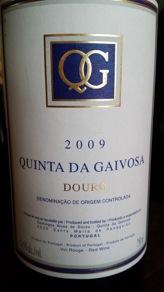 Quinta da Gaivosa 2009 – DOC Douro