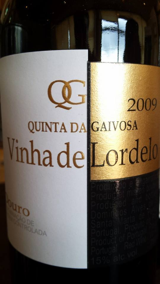Quinta da Gaivosa – Vinha de Lordelo 2009 – DOC Douro