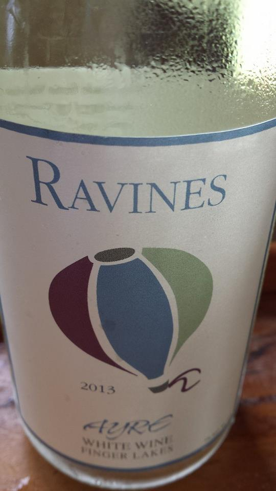 Ravines – Ayre 2013 – White Wine – Finger Lakes