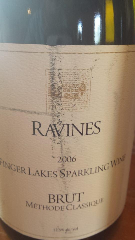 Ravines – Brut 2006 Méthode Classique – Finger Lakes Sparkling Wine