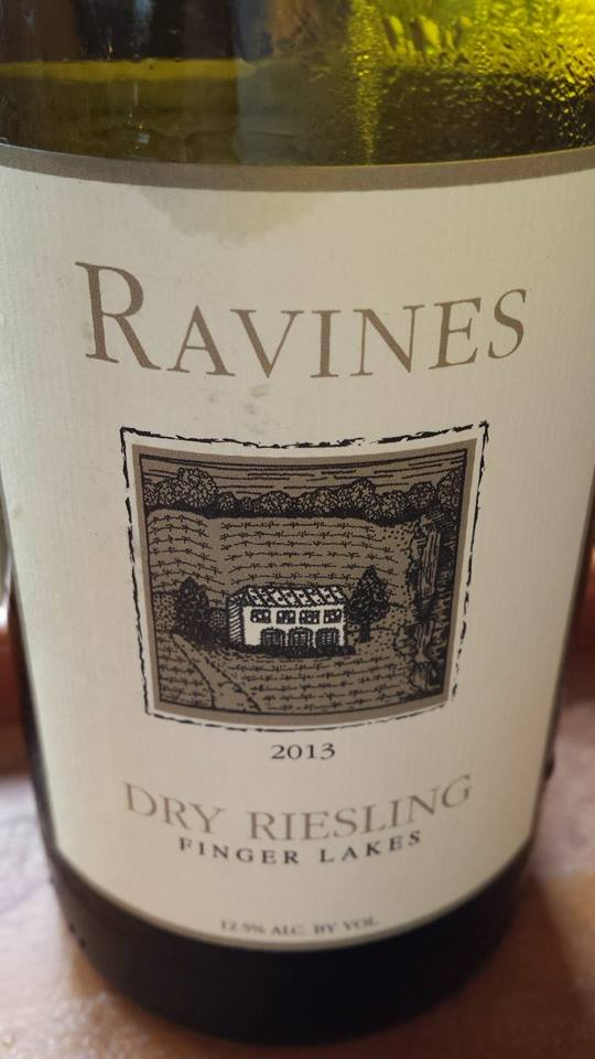 Ravines – Dry Riesling 2013 – Finger Lakes