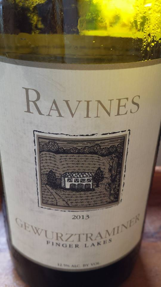 Ravines – Gewurztraminer 2013 – Finger Lakes