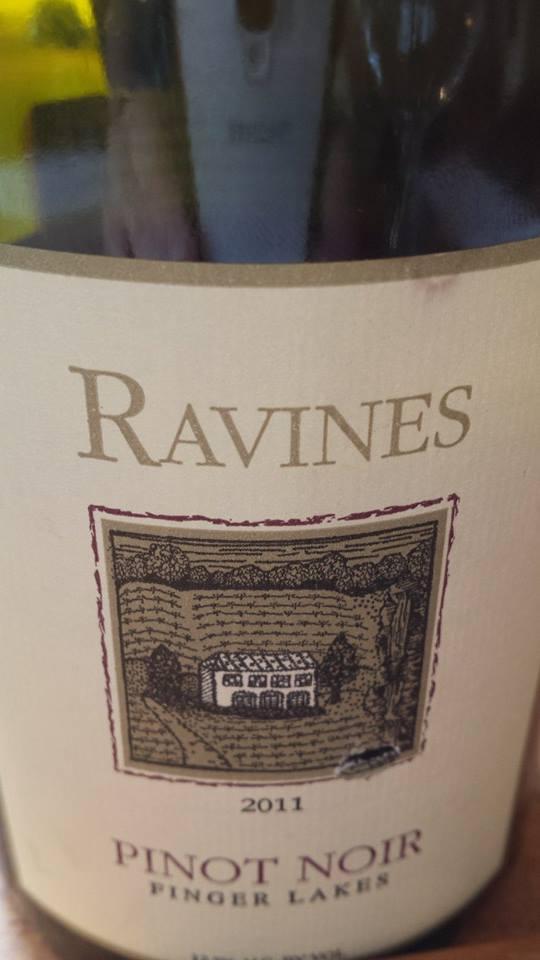 Ravines – Pinot Noir 2011 – Finger Lakes