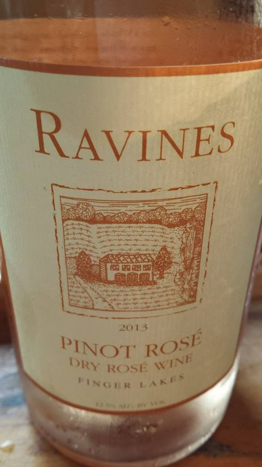 Ravines – Pinot Rosé 2013 – Dry Rosé Wine – Finger Lakes