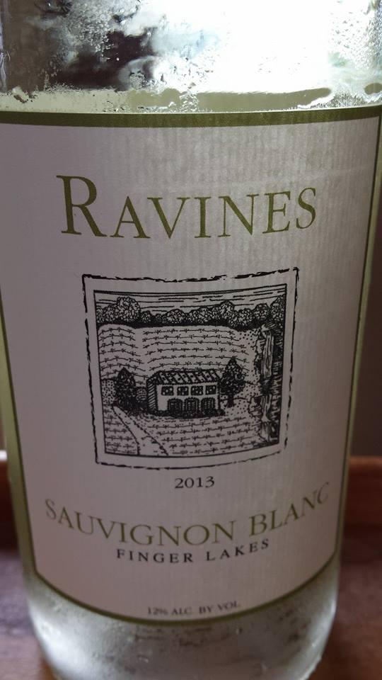 Ravines – Sauvignon Blanc 2013 – Finger Lakes