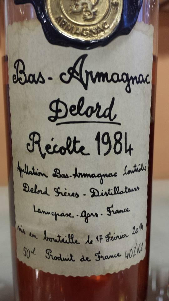 Armagnac Delord – 1984 – Bas-Armagnac