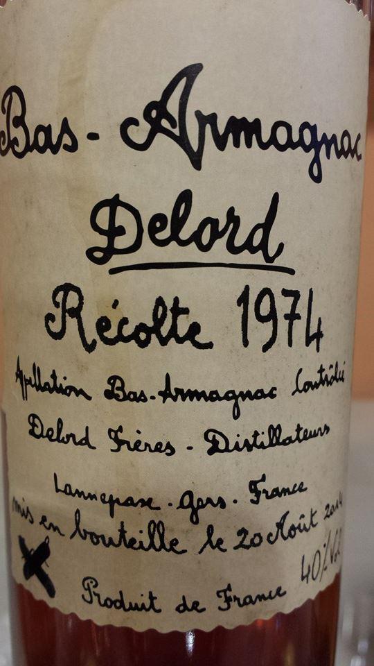 Armagnac Delord – 1974 – Bas-Armagnac