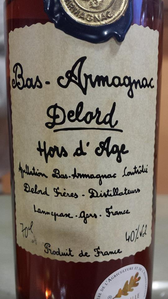 Armagnac Delord – Hors d'âge – Bas-Armagnac