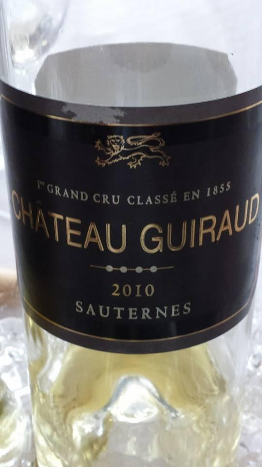 Château Guiraud 2010 – 1er Grand Cru Classé de Sauternes