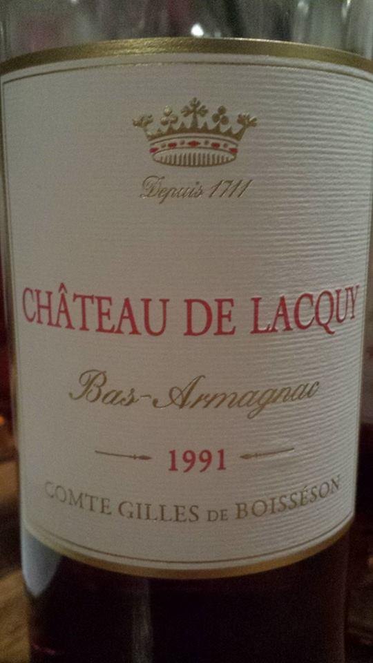 Château de Lacquy – 1991 – Bas-Armagnac