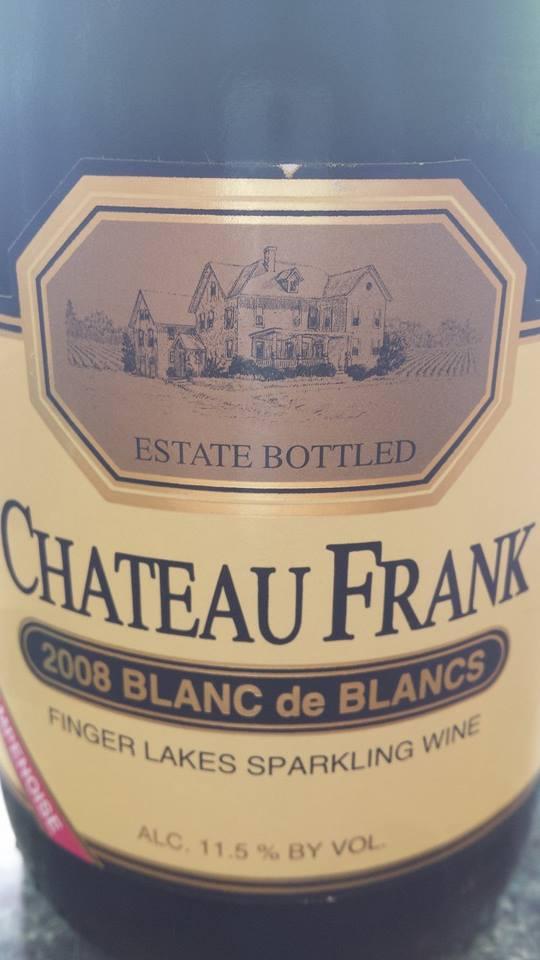 Château Frank – 2008 Blanc de blancs – Finger Lakes