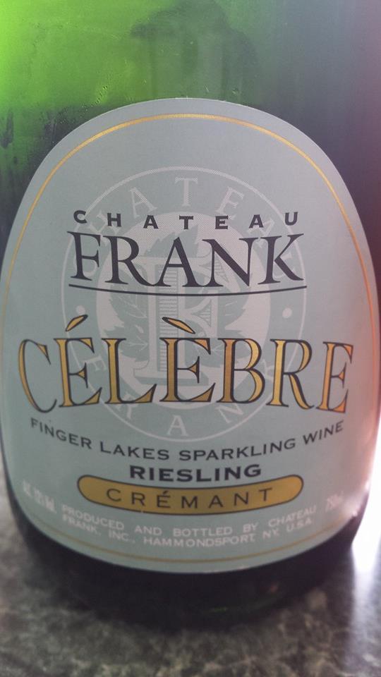 Château Frank – Célèbre Riesling – Crémant – Finger Lakes