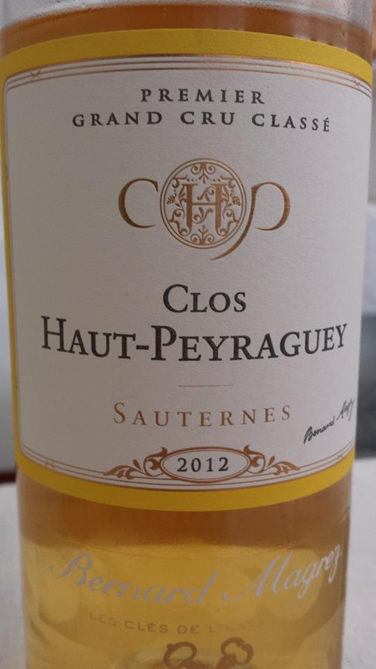 Clos Haut-Peyraguey 2012 – 1er Cru Classé de Sauternes