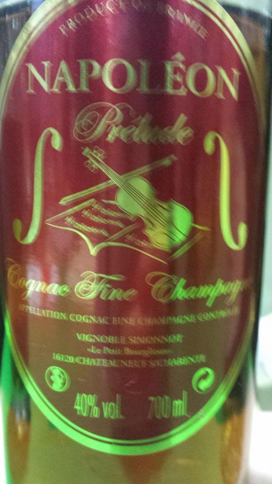 Cognac Simonnot – Napoléon Prélude – Fine Champagne