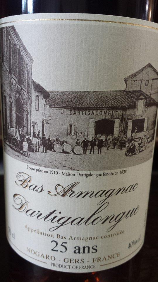 Dartigalongue – 25 ans – Bas-Armagnac