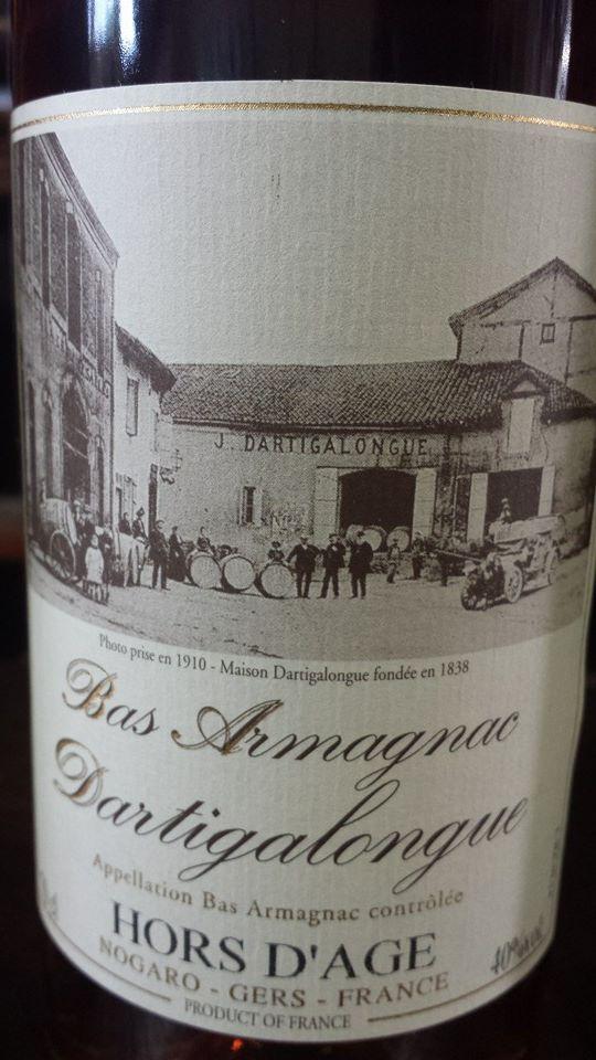 Dartigalongue – Hors d'âge – Bas-Armagnac
