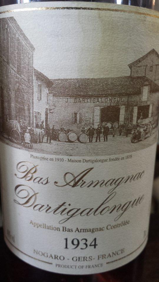 Dartigalongue – 1934 – Bas-Armagnac