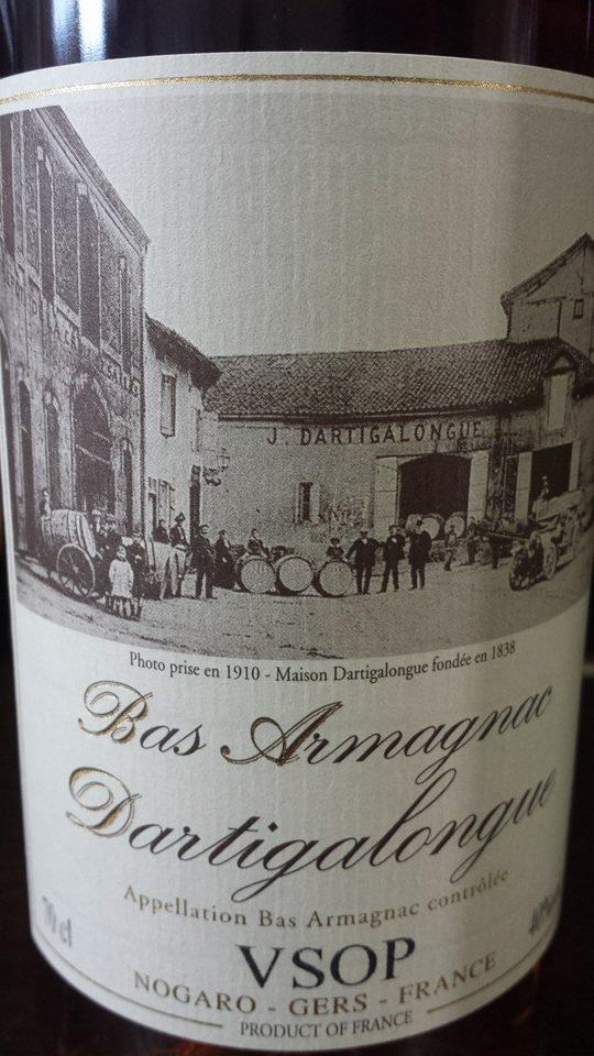 Dartigalongue – Armagnac VSOP – Bas-Armagnac