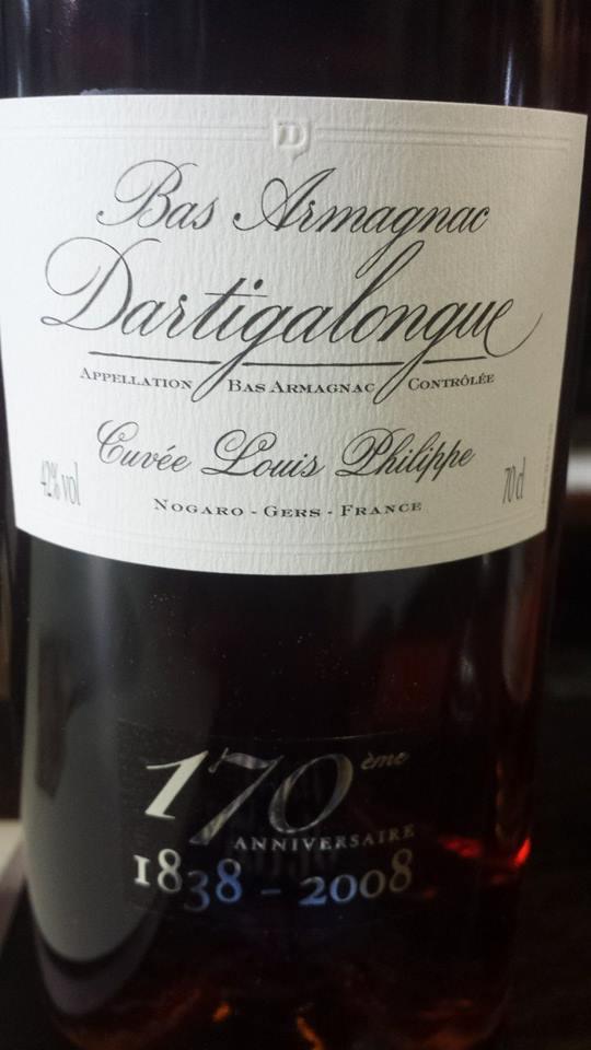 Dartigalongue – Cuvée Louis Philippe – Bas-Armagnac