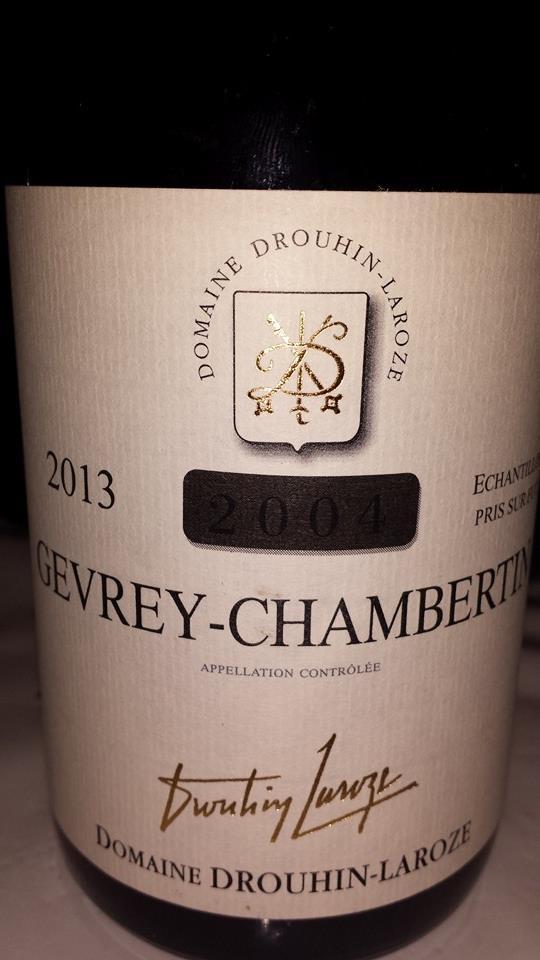 Domaine Drouin Laroze 2013 – Gevrey-Chambertin