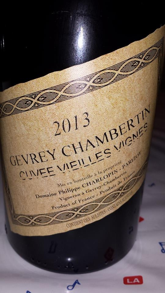 Domaine Philippe Charlopin Parizot – Cuvée Vieilles Vignes 2013 – Gevrey-Chambertin