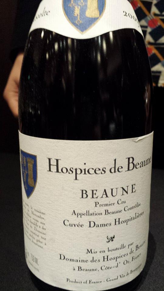 Domaine des Hospices de Beaune 2009 – Cuvée Dames Hospitalières – Beaune 1er Cru