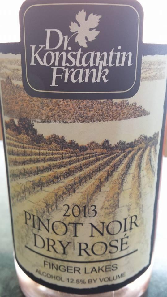 Dr. Konstantin Frank – Pinot Noir Dry Rosé 2013 – Finger Lakes