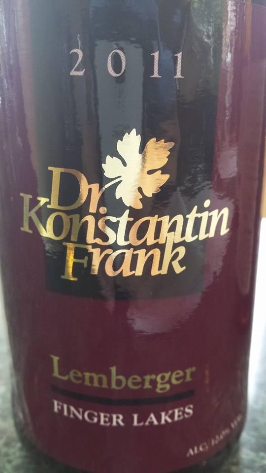 Dr. Konstantin Frank – Lemberger 2011 – Finger Lakes