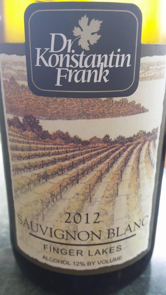 Dr. Konstantin Frank – Sauvignon Blanc 2012 – Finger Lakes