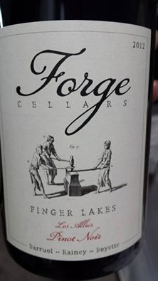 Forge Cellars – Pinot Noir – Les Allies 2012 – Finger Lakes