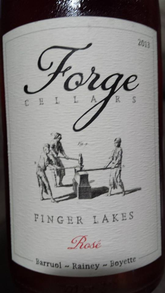 Forge Cellars – Pinot Noir Rosé 2013 – Finger Lakes