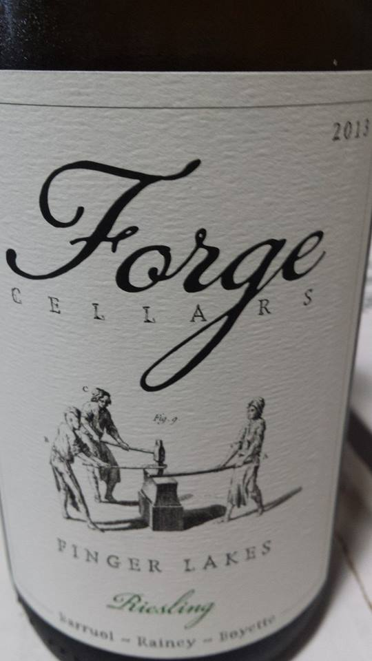 Forge Cellars – Riesling 2013 – Finger Lakes