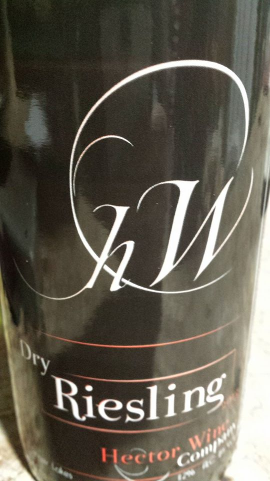 Hector Wine Company – Dry Riesling 2013 – Finger Lakes