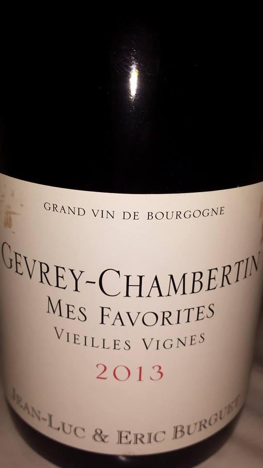 Jean-Luc & Eric Burguet – Mes Favorites – Vieilles Vignes 2013 – Gevrey-Chambertin