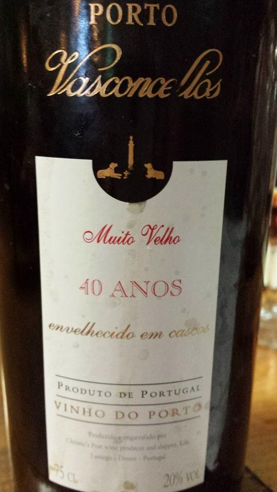 Porto Vasconcellos – Muito Velho 40 Anos – Vinho do Porto