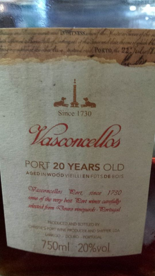 Porto Vasconcellos – Port 20 Years Old