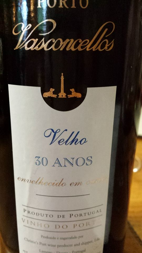 Porto Vasconcellos – Velho 30 Anos – Vinho do Porto