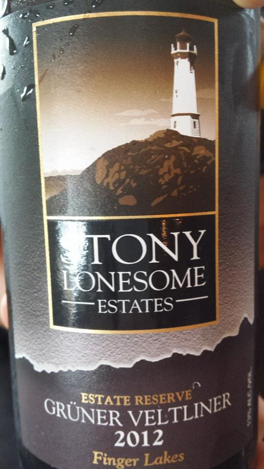 Stony Lonesome Estates – Grüner Veltiner 2012 Estate Reserve – Finger Lakes